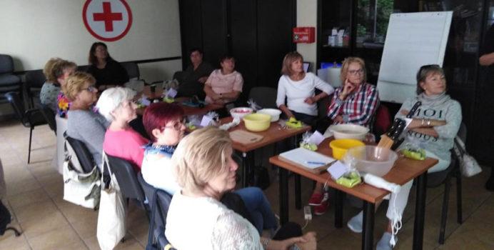 Spotkanie seniorów z dietetykiem