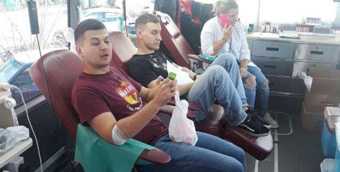 Akcja zbiórki krwi na Ursynowie