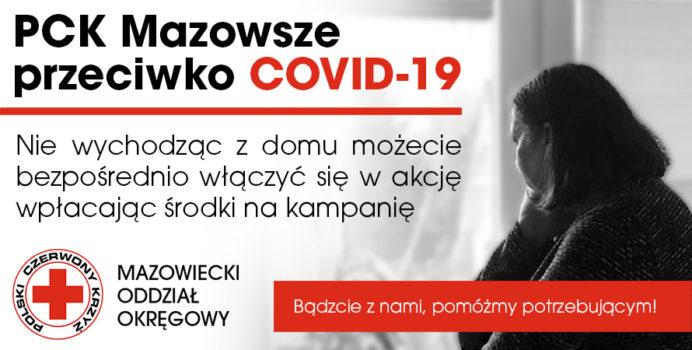 PCK Mazowsze przeciwko COVID - 19