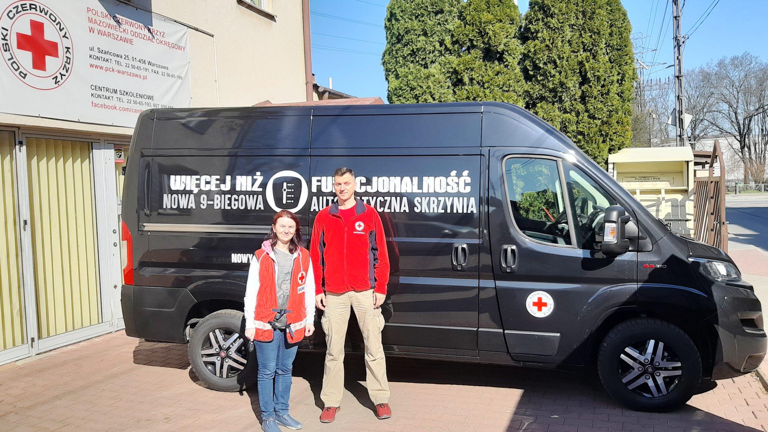 Fiat Ducato - wsparcie w działaniach pomocowych w czasie epidemii