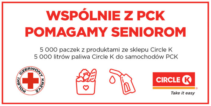 Circle K wspiera seniorów z PCK