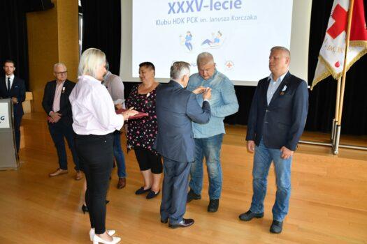 XXXV-lecie działalności Klubu HDK PCK im. Janusza Korczaka działającego